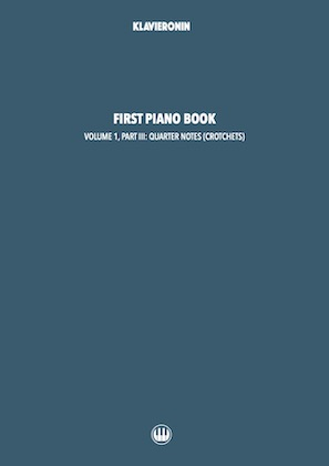 First Piano Book: Vol 1, Part III Cover