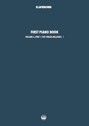 First Piano Book: Vol 2, Part I Cover