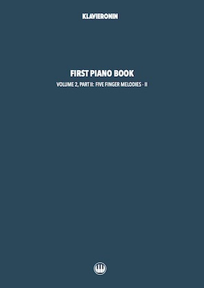 First Piano Book: Vol 2, Part II Cover