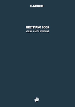 First Piano Book: Vol 3, Part I Cover