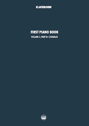 First Piano Book: Vol 3, Part III Cover
