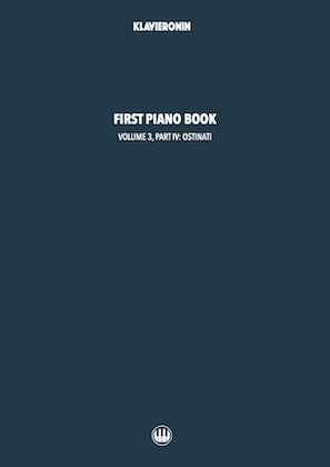 First Piano Book: Vol 3, Part IV Cover